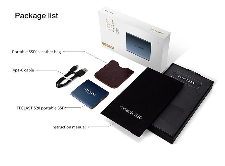Teclast S20 Package
