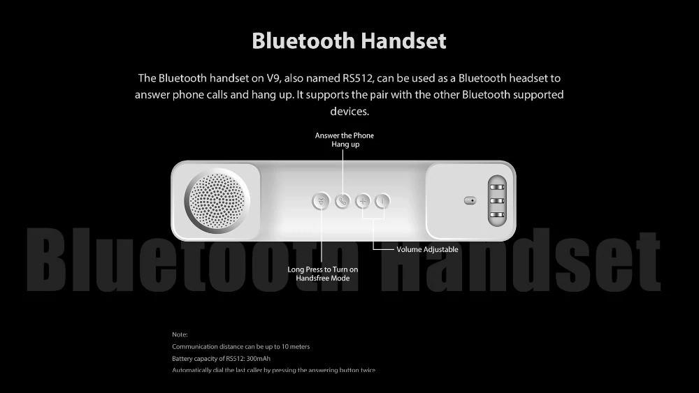 Poptel V9 Bluetooth Handset