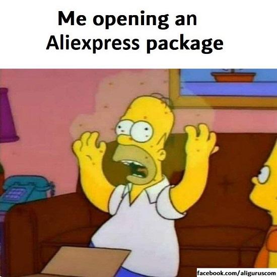 AliExpress Coronavirus
